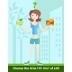 Healthy Lifestyle and Dieting Concept - GraphicRiver Item for Sale