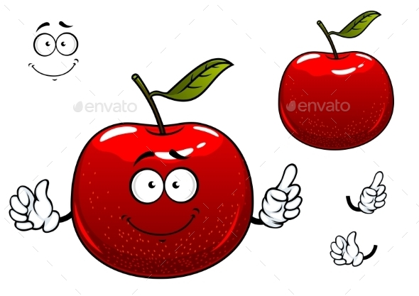 GraphicRiver Apple Cartoon 10963786