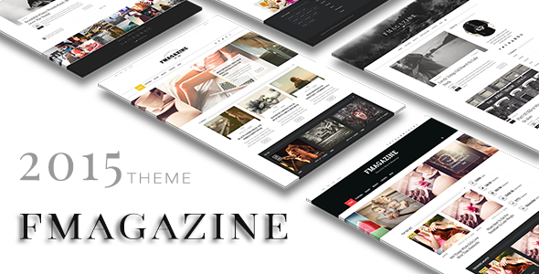 ThemeForest F Magazine Blog Wordpress 10006352