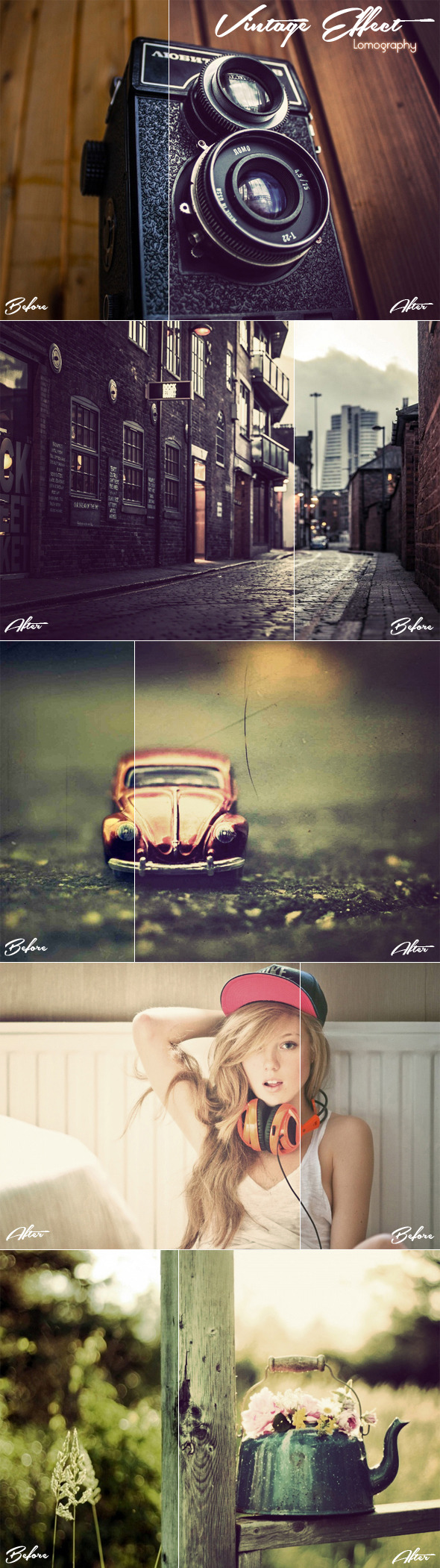 GraphicRiver Vintage Effect Lomography 10963842