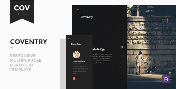Coventry - Multipurpose Portfolio Template
