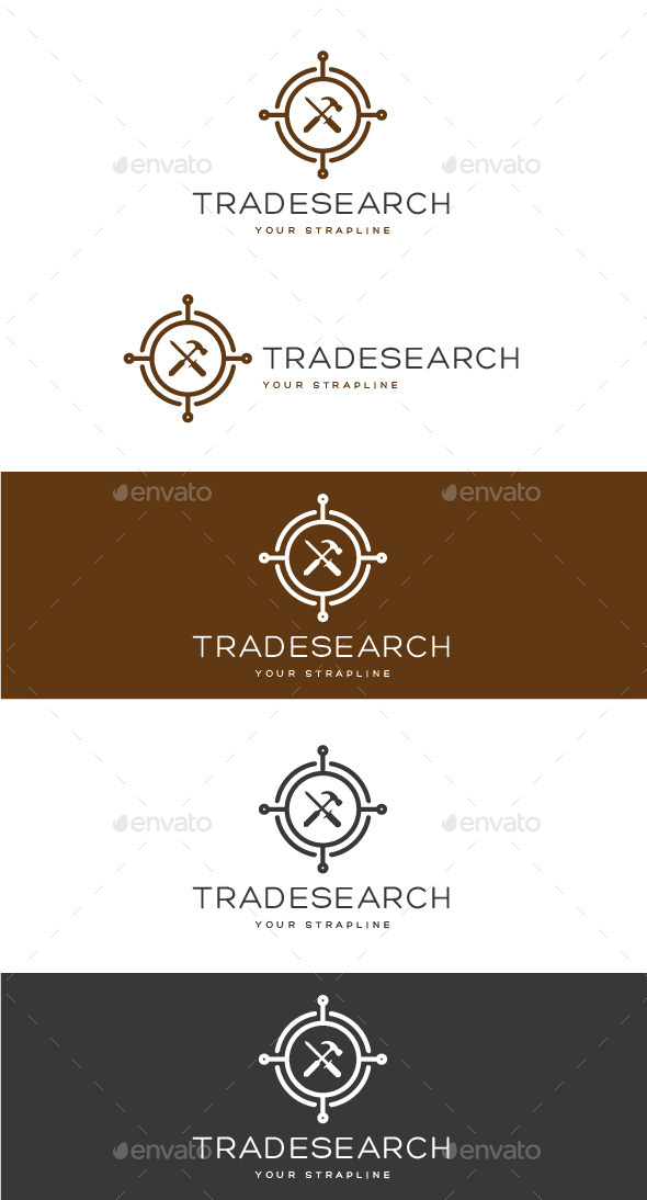 GraphicRiver Trade Search Logo 10963917