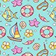 Summer Marine Seamles Pattern - GraphicRiver Item for Sale