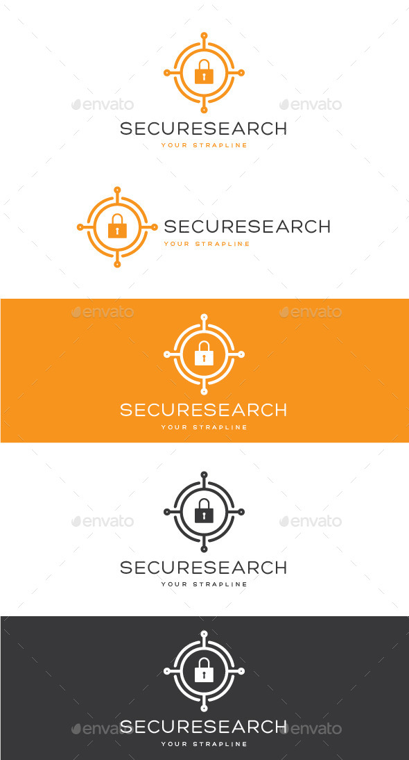 GraphicRiver Secure Search Logo 10964011