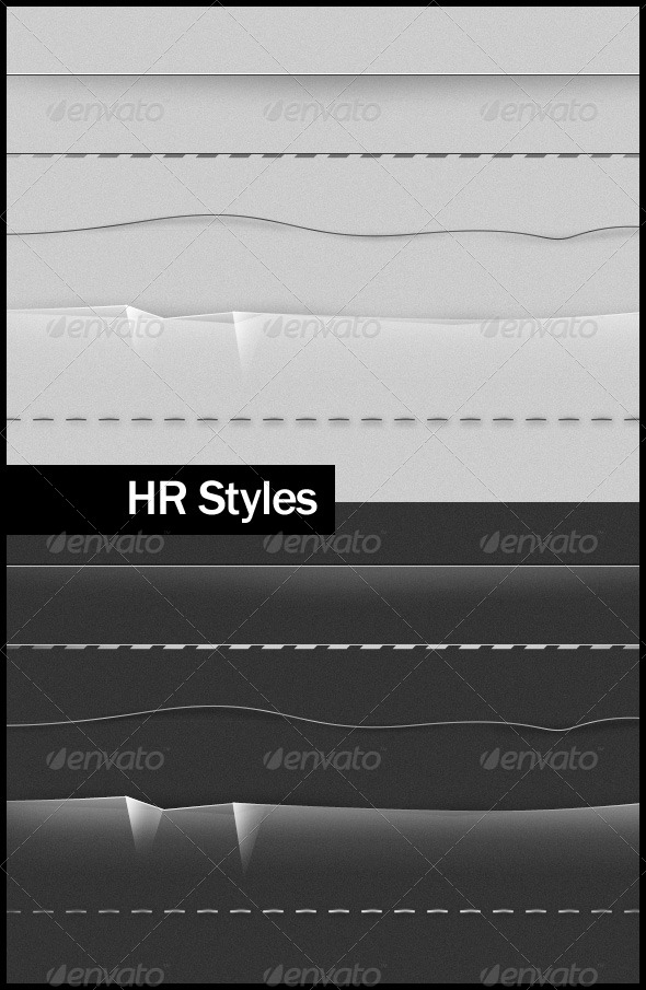 HR Styles - Miscellaneous Web Elements
