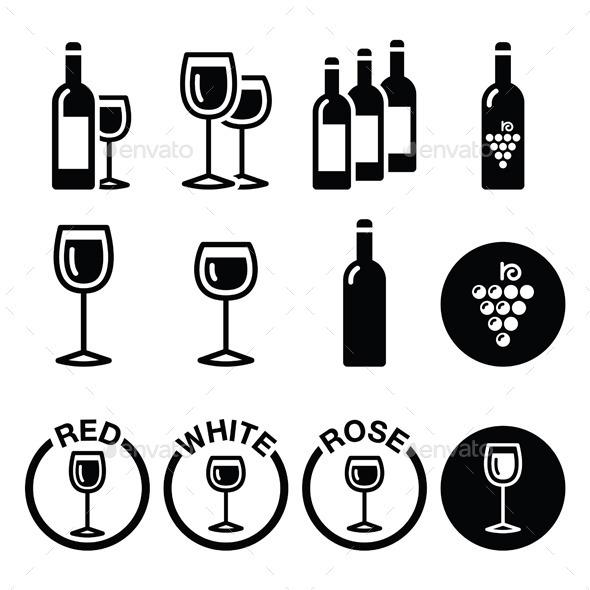GraphicRiver Wine Types 10964093