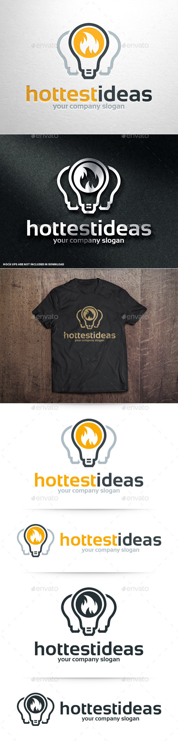 GraphicRiver Hottest Ideas Logo Template 10964109