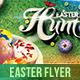 Easter Flyer Template Gracing 3 - GraphicRiver Item for Sale