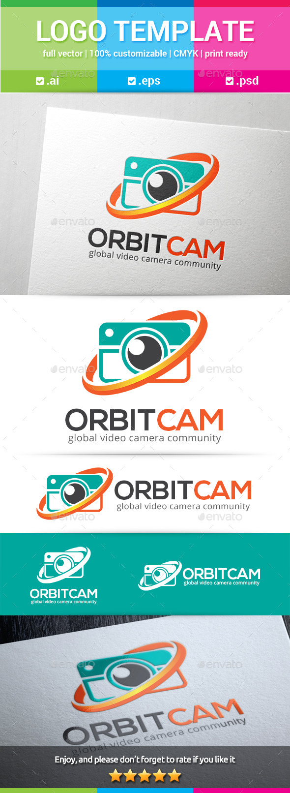 GraphicRiver Orbit Camera Logo 10964796