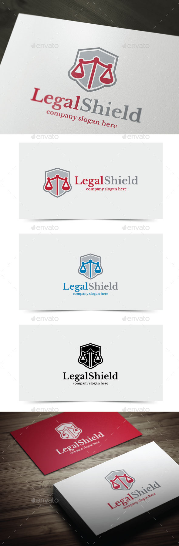 GraphicRiver Legal Shield 10965055
