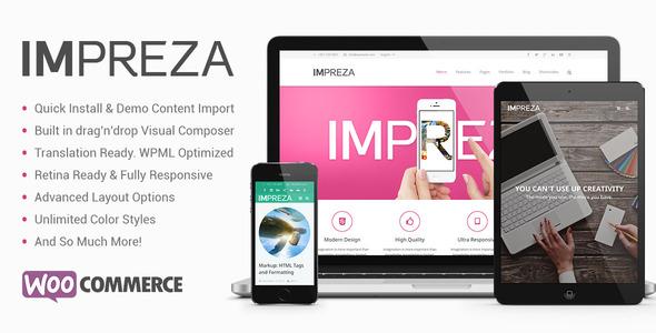 Impreza - Multi-Purpose WordPress Theme - Creative WordPress
