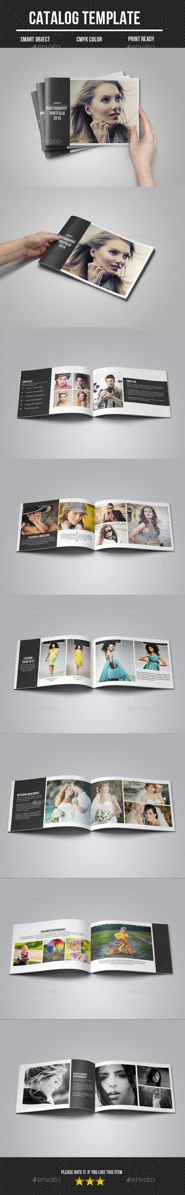 GraphicRiver Photography Portfolio Catalog 10965441