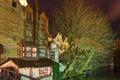 Picturesque night canal in Bruges, Belgium - PhotoDune Item for Sale