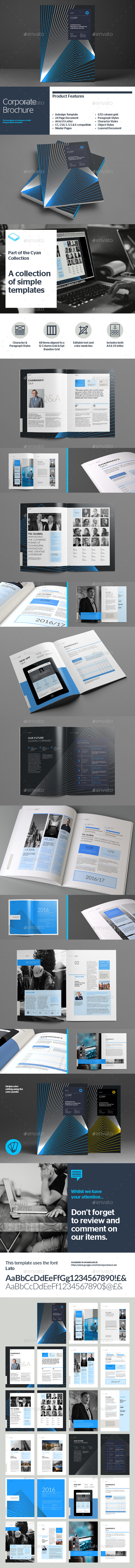 GraphicRiver Corporate Brochure 10965624