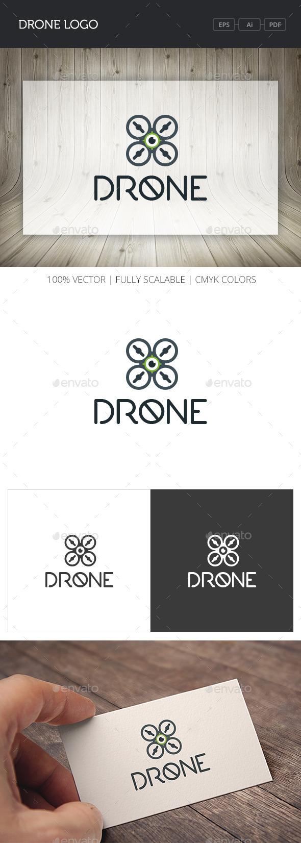 GraphicRiver Drone Logo 10966042