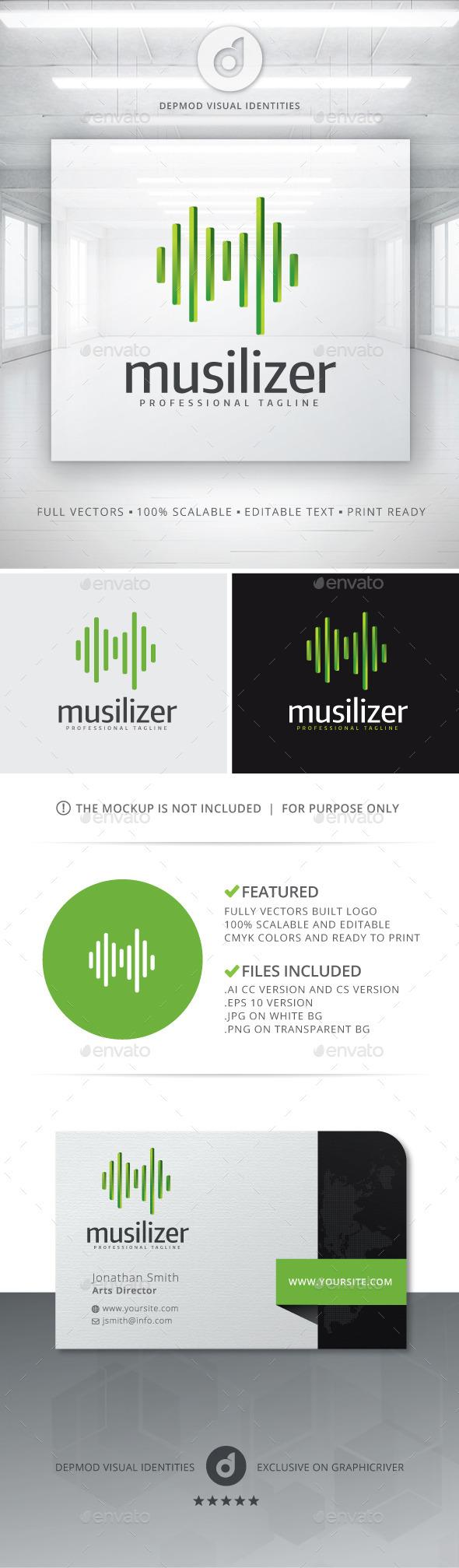 GraphicRiver Musilizer Logo 10966168