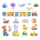 Variety of Childrens Toys  - GraphicRiver Item for Sale