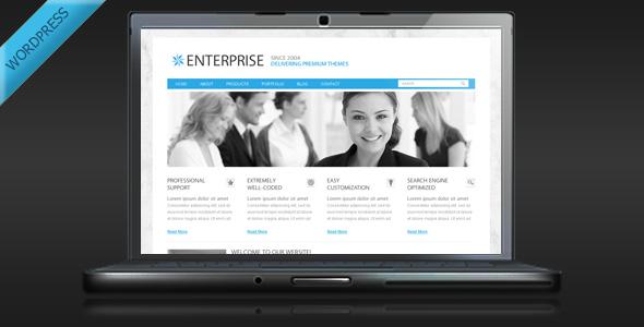 Enterprise - Clean Business WordPress Theme