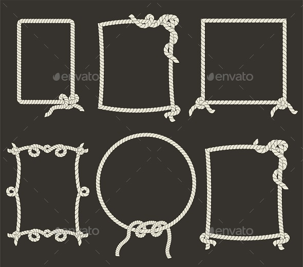 GraphicRiver Rope Frames 10966776