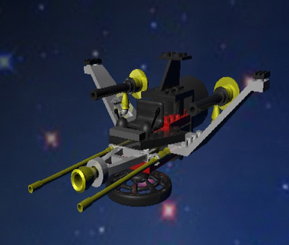 Space Fighter - 3DOcean Item for Sale
