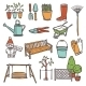 Gardening Tools Set - GraphicRiver Item for Sale