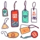 Tags Color Set - GraphicRiver Item for Sale