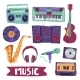 Music Icon Set - GraphicRiver Item for Sale