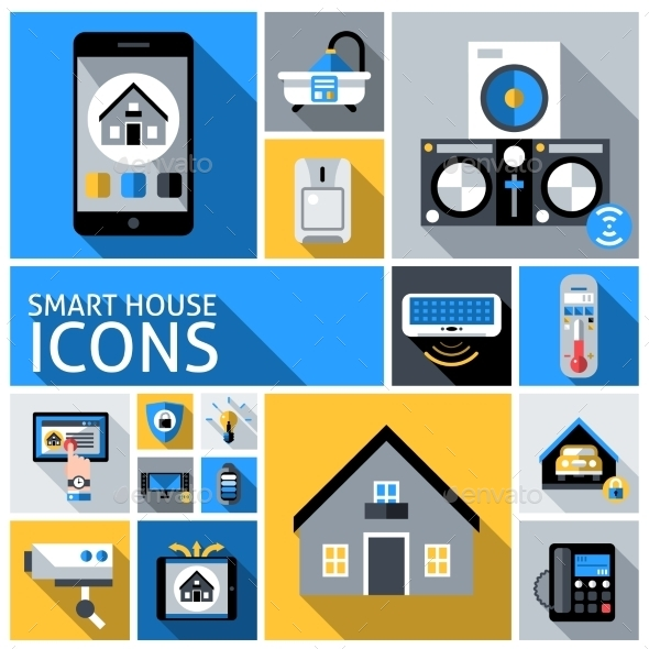GraphicRiver Smart House Icons 10967906