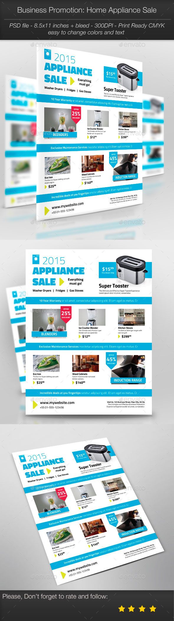 GraphicRiver Business Promotion Home Appliance Sale 10968051