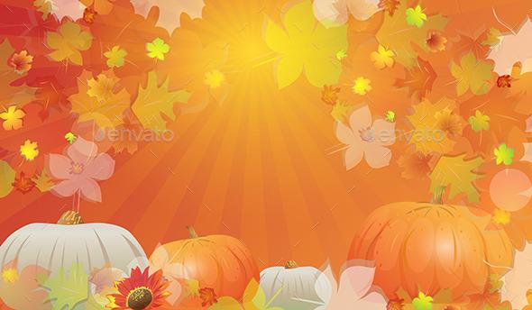 GraphicRiver Autumn Background 10968069