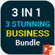 3 Stunning Business Powerpoint Template Bundle  - GraphicRiver Item for Sale