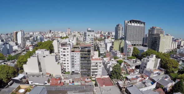 Buenos Aires City From Above