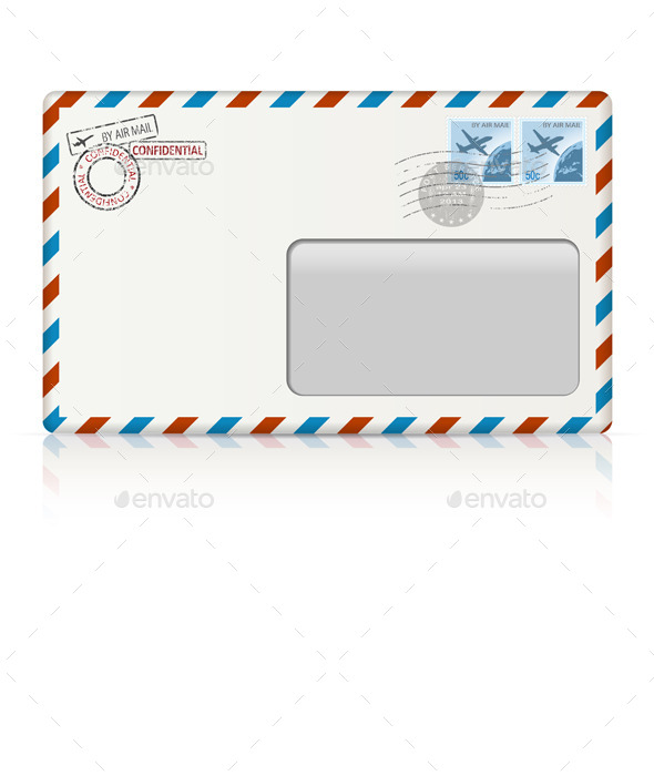 GraphicRiver Air Mail Envelope 10968411