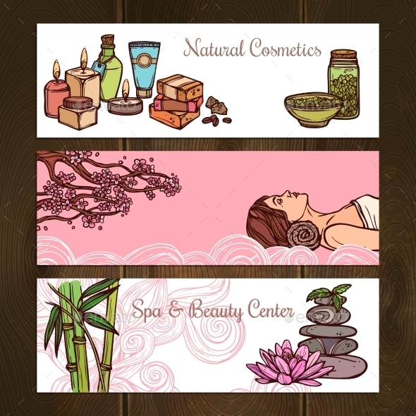 GraphicRiver Spa Banners Set 10968603