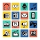 Media Icons Set - GraphicRiver Item for Sale
