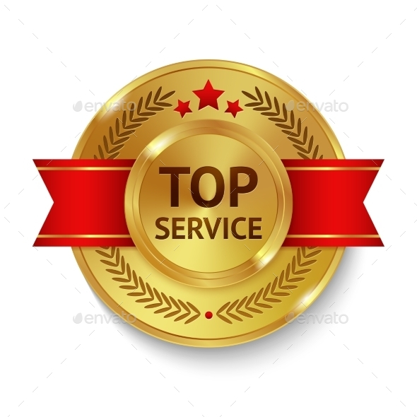 GraphicRiver Top Service Badge 10968614