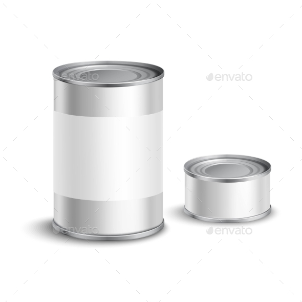 GraphicRiver Tin Can Set 10968616