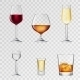 Alcohol Drinks Transparent - GraphicRiver Item for Sale