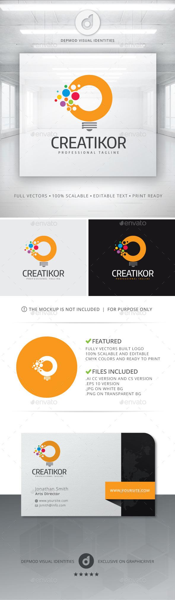 GraphicRiver Creatikor Logo 10968667