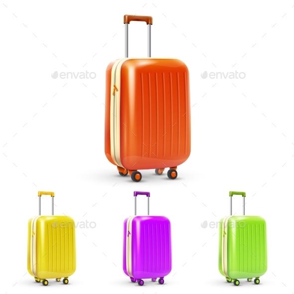 GraphicRiver Travel Suitcase Set 10968909