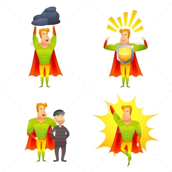 GraphicRiver Superhero 10968979