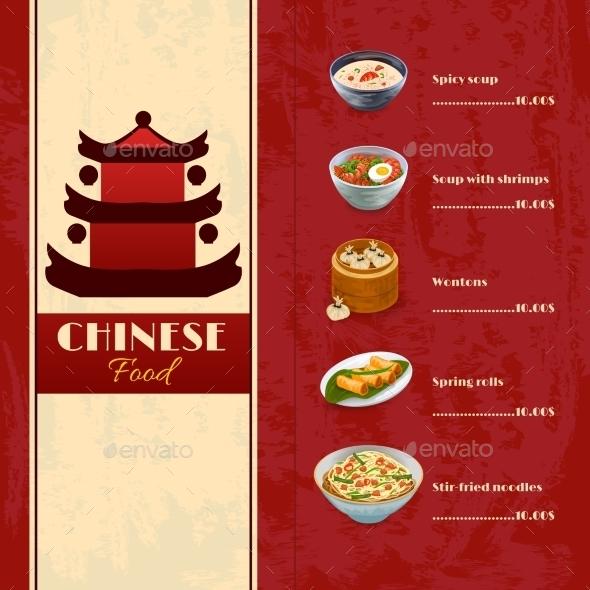 GraphicRiver Asian Food Menu 10968988