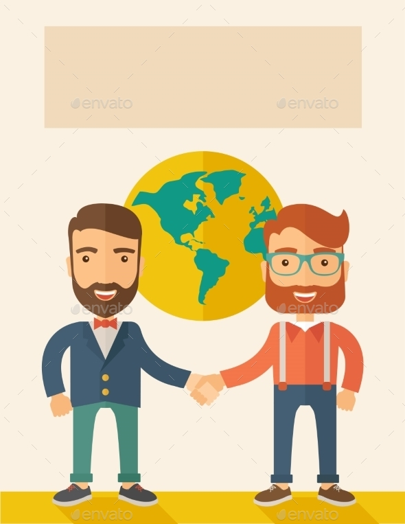 GraphicRiver Succesful Businessmen 10969108