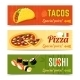 Food Banners Set - GraphicRiver Item for Sale