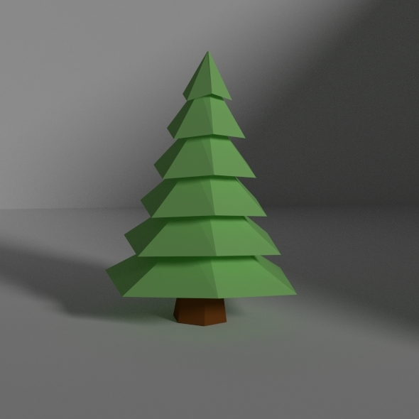 3DOcean low poly tree 10969715