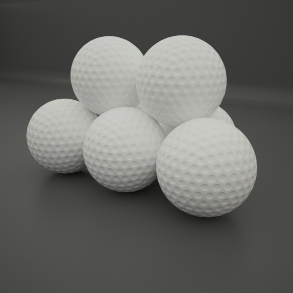3DOcean Golf Ball 10969786