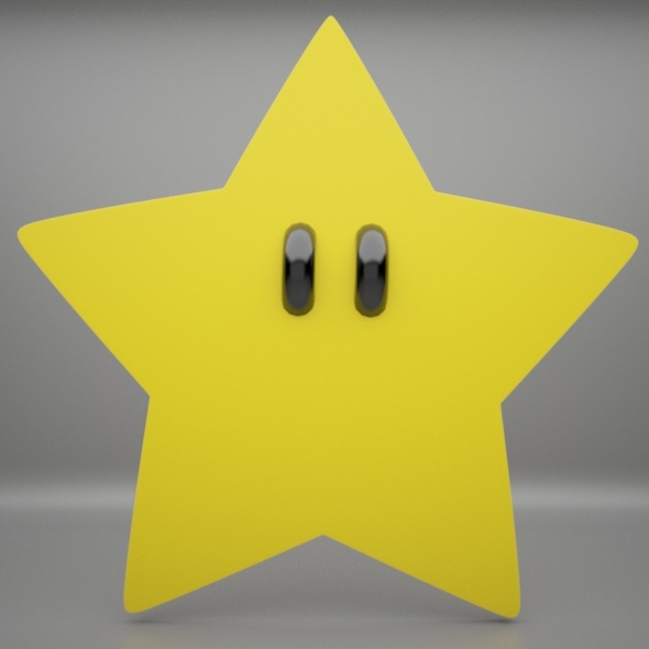 Mario Star - 3DOcean Item for Sale