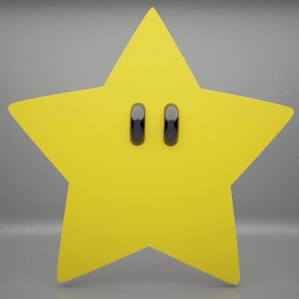 3DOcean Mario Star 10969845