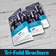 Corporate Marketing Tri-Fold Brochure - GraphicRiver Item for Sale