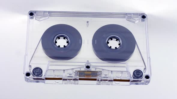 A Cassette Tape Moving 1